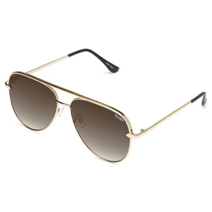 Picture of Quay Sahara Sunglasses - Gold/Smoke Taupe