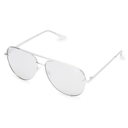 Picture of Quay High Key Sunglasses - Original Silver/Silver