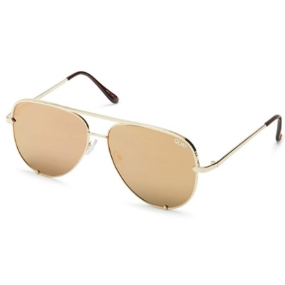 Picture of Quay High Key Sunglasses - Original Gold/Gold