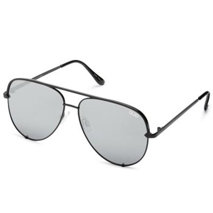 Picture of Quay High Key Sunglasses - Original Black/Silver