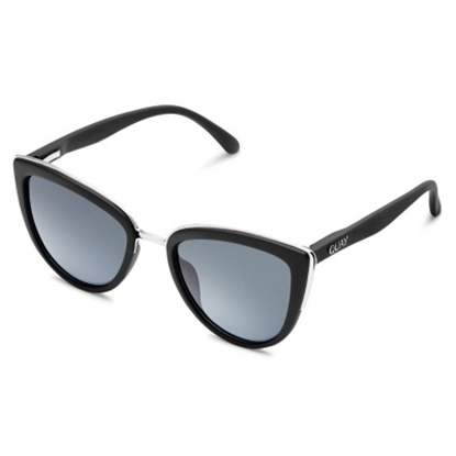 Picture of Quay My Girl Sunglasses - Black/Smoke