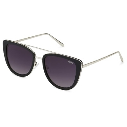 Picture of Quay French Kiss Sunglasses - Black/Smoke