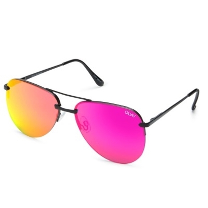 Picture of Quay The Playa Sunglasses - Black/Pink