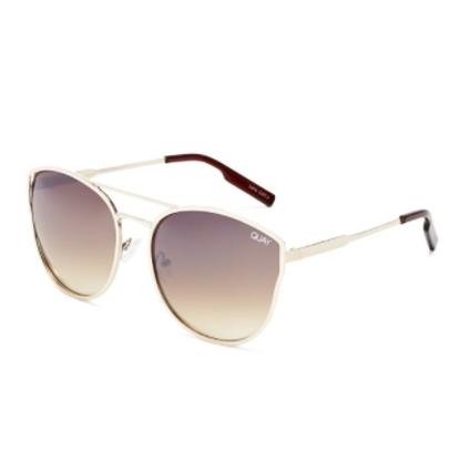 Picture of Quay Cherry Bomb Sunglasses - Gold/Silver