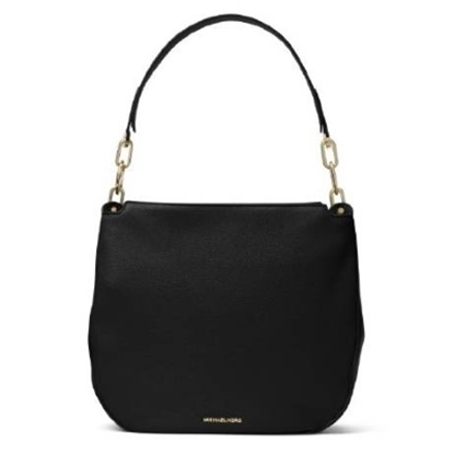 Picture of Michael Kors Fulton Large Hobo - Black