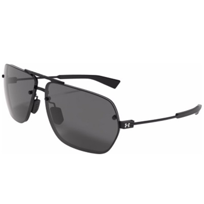 Picture of Under Armour Hi-Roll Sunglasses - Satin Black/Gray Polarized