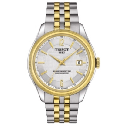 Picture of Tissot Ballade Powermatic 80 COSC - Two-Tone Stainless Steel