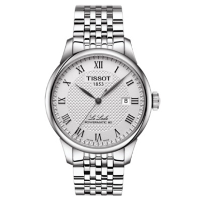 Picture of Tissot Le Locle Powermatic 80 - Stainless Steel/Silver Watch