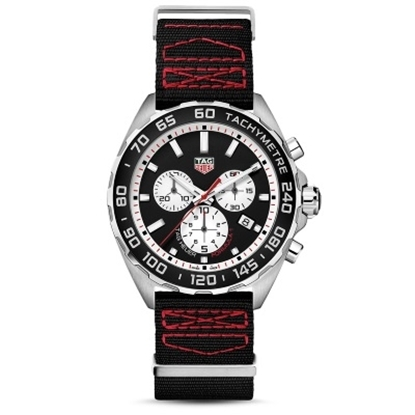 Picture of TAG Heuer Formula 1 Chronograph Black/Red Textile Watch