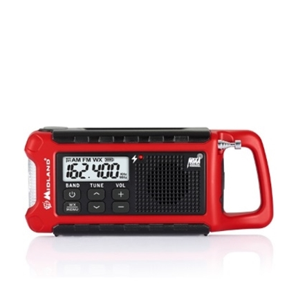 Picture of Midland® E+Ready® Compact Emergency Crank WX Radio