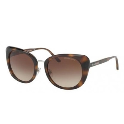 Picture of Michael Kors Lisbon Sunglasses - Tortoise/Brown Gradient Lens