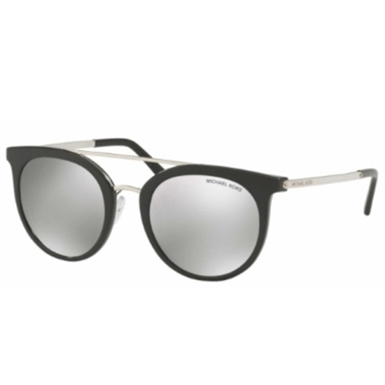 Picture of Michael Kors Ila Sunglasses - Silver/Black Frame/Silver Lens