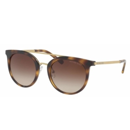 Picture of Michael Kors Ila Sunglasses - Gold/Tortoise/Brown Gradient