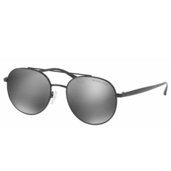 Picture of Michael Kors Lon Sunglasses - Black Frame/Gunmetal Lens