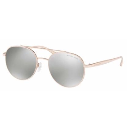 Picture of Michael Kors Lon Sunglasses - Rose Gold Frame/Silver Lens