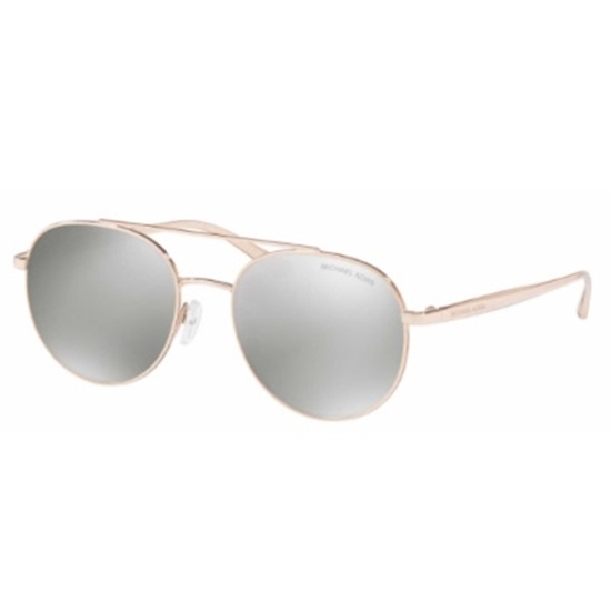 Picture of Michael Kors Lon Sunglasses - Rose Gold Frame/Silver Lens
