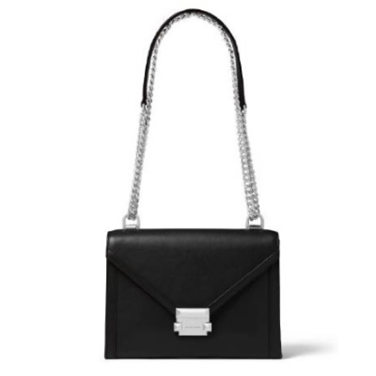 Picture of Michael Kors Whitney Large Shoulder Bag - Black