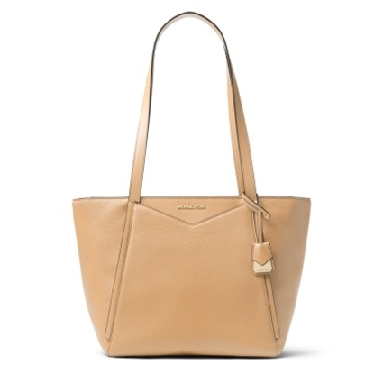 Picture of Michael Kors Whitney Small Top Zip Tote - Butternut