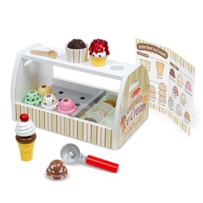 Picture of Melissa & Doug® Scoop & Serve Ice Cream Counter