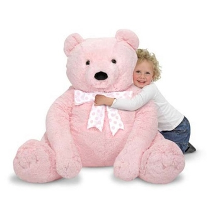Picture of Melissa & Doug® Jumbo Pink Teddy Bear
