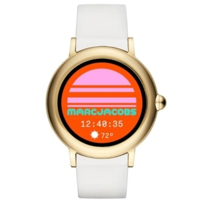 Picture of Marc Jacobs Riley Athena 2 White Band Touchscreen Smartwatch