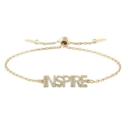 Picture of Lulu DK 14K Gold-Plated Brass Inspire Bracelet