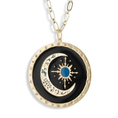 Picture of Lulu DK 14K Gold-Plated Follow Your Dreams Pendant