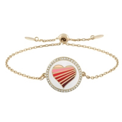 Picture of Lulu DK 14K Gold-Plated Brass Love Bracelet