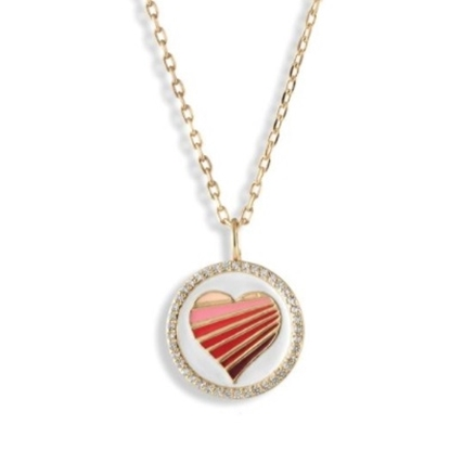 Picture of Lulu DK 14K Gold-Plated Brass Love Necklace