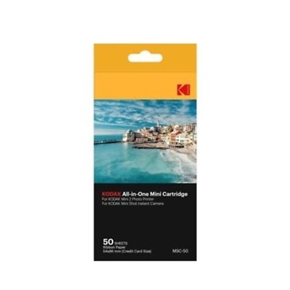 Picture of Kodak Dye Sub Paper for Mini Shot Cam/Mini 2 - 50 Pack
