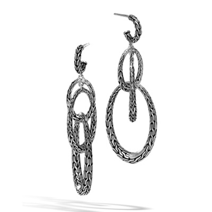 Picture of John Hardy Classic Chain Drop Earrings