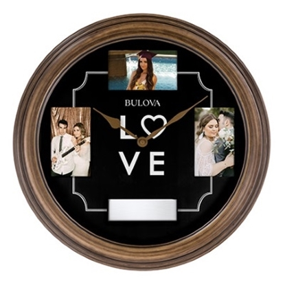 Picture of Bulova Wall Clock with Pictures