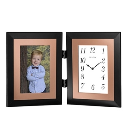 Picture of Bulova Clock and Frame