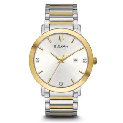 Picture of Bulova Men's Modern Diamond Two-Tone Watch