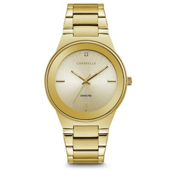Picture of Bulova Caravelle NY Men's Gold-Tone Watch