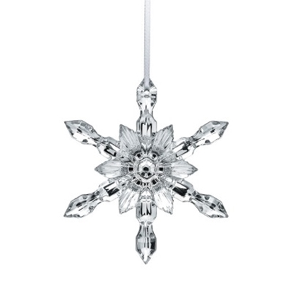 Picture of Baccarat Snowflake - Silver Metallic