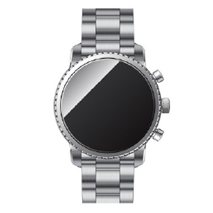 Picture of Fossil Q Explorist HR Stainless Steel Touchscreen Smartwatch
