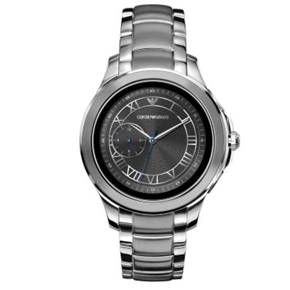 Picture of Emporio Armani Alberto Stainless Steel Touchscreen Smartwatch