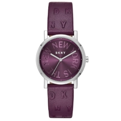 Picture of DKNY Ladies' Soho Purple Leather Watch