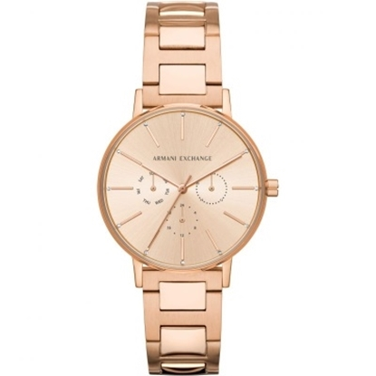 Picture of Armani Exchange Ladies' Lola Rose Gold-Tone Steel Watch