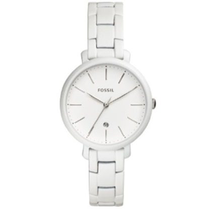Picture of Fossil Ladies' Jacqueline White Bracelet Watch