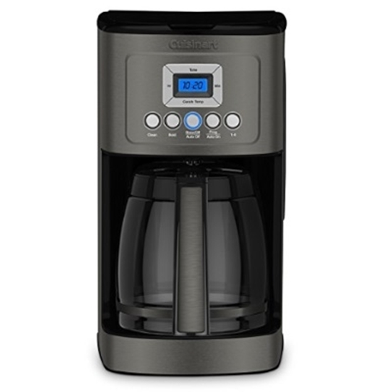 Picture of Cuisinart 14-Cup Programmable Coffeemaker - Black Stainless