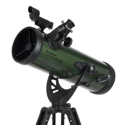 Picture of Celestron® ExploraScope 114AZ Newtonian Telescope
