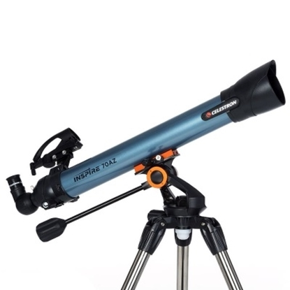 Picture of Celestron® Inspire 70AZ Refractor Telescope