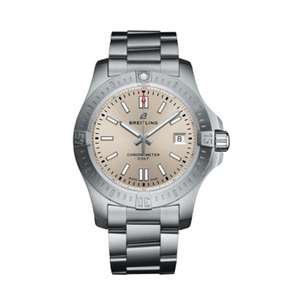 Picture of Breitling Chronomat Colt Chrono 41 Steel with Stratus Silver