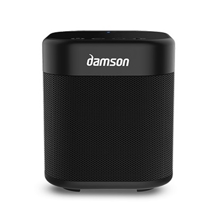Picture of Damson S-Cube Portable Wireless Bluetooth® Speaker - Black