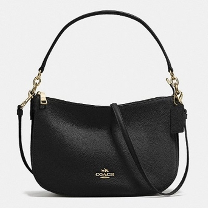 Picture of Coach Leather Camera Bag - Black