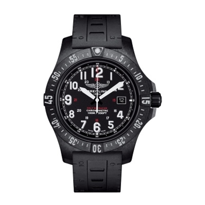 Picture of Breitling Colt Skyracer Rubber Watch - Volcano Black