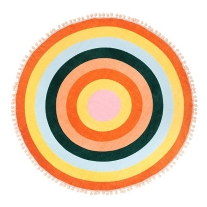 Picture of Ban.do All Around Giant Circle Towel - Color Wheel