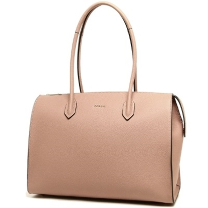 Picture of Furla Pin Large Satchel - Moonstone